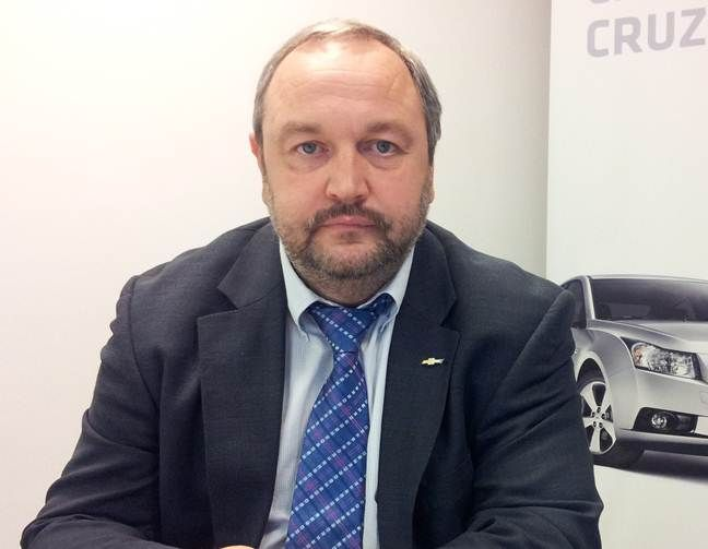 László Lovassy, Manager, Sales Operations, Chevrolet and Cadillac Europe